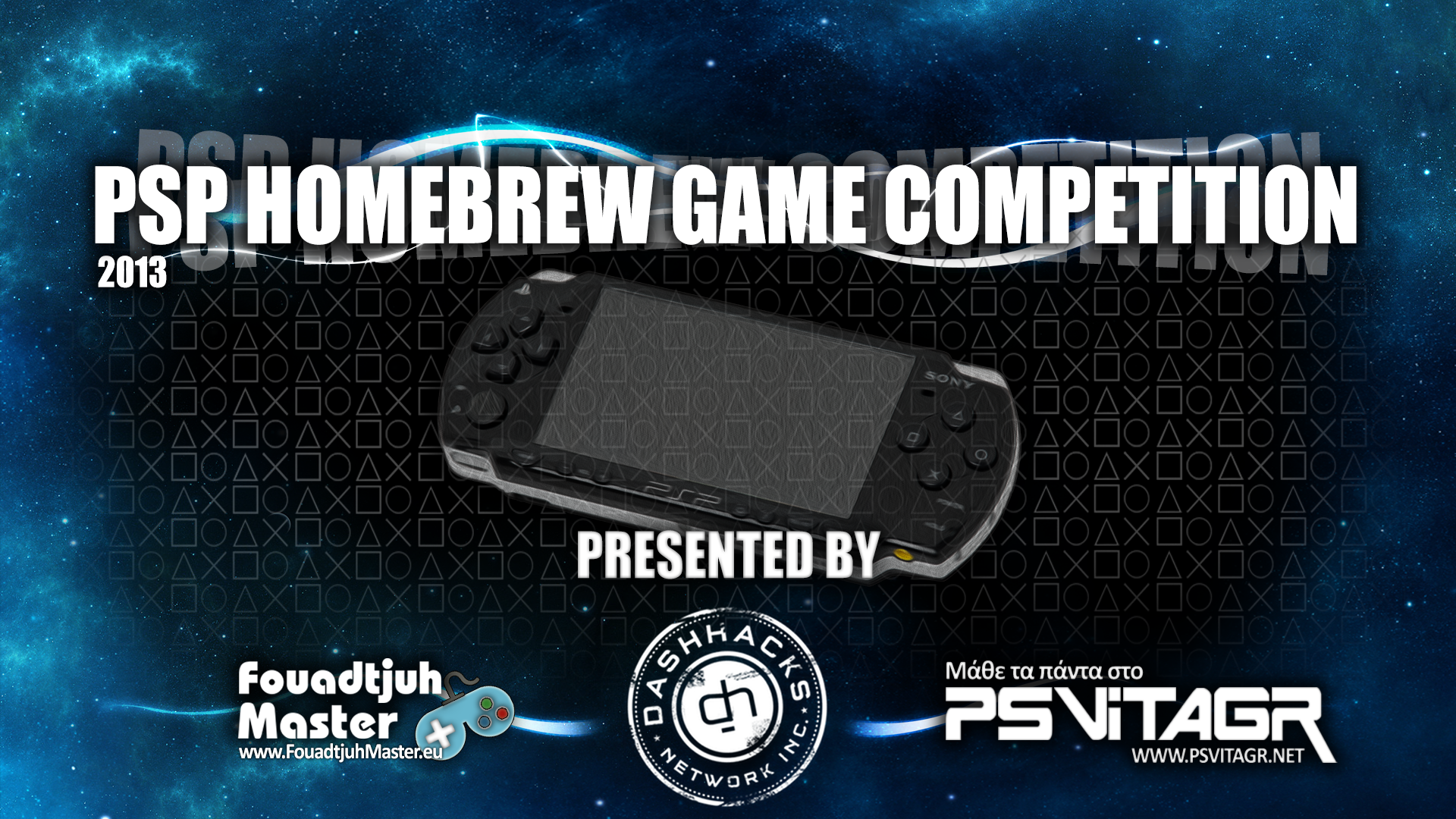 PSP HOMEBREW GAME COMPETITION 2013 (POSTER BY GODMANGEN)