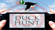 So, I was toying around with the Duck Hunt PSP code, and tried to add a new and simple menu, since I dislike the old one. But after some hours, it didn't go exactly the way I had wanted. But perhaps I can give it another try… You can vote below if you want to see the finishing product!