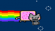 Watch the Nyan Cat fly and annoy you over and over again on a small 3.8 inch (97 mm) screen. And if the flying isn't enough, enjoy the beautiful melody of Nyan Cat […]