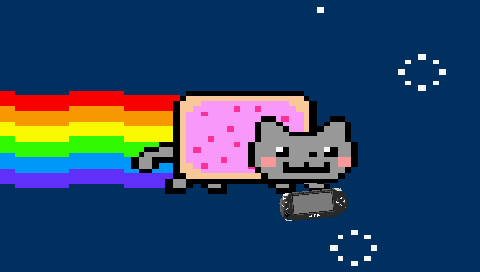 "Watch the Nyan Cat fly and annoy you over and over again on a small 3.8 inch (97 mm) screen. And if the flying isn't enough, enjoy the beautiful melody of Nyan Cat (composed by daniwell) will make you feel at ease. Version 1.1:  I never planned to revisit this ""project's"" code (code created by Snailface), until I saw some things that […]"