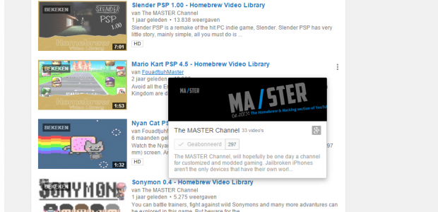 "The MASTER Channel (also known as simply ""MASTER""), will hopefully be one day a channel for customized and modded gaming. Jailbroken iPhones aren't the only devices that have their own world. No! The PSP and it's custom firmware is a whole world of exploring. From Homebrew games to PRX Plugins. While the PSP might be the first device we started […]"