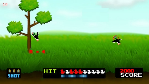 Duck Hunt PSP screenshot (1)