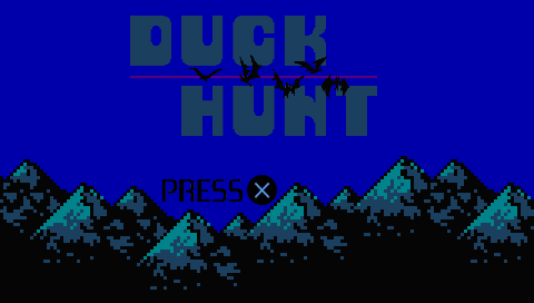 Duck Hunt PSP screenshot