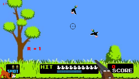 Duck Hunt PSP screenshot (2)