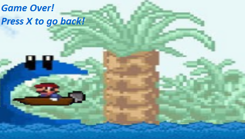 Mario Boat Homebrew - Screenshot 3