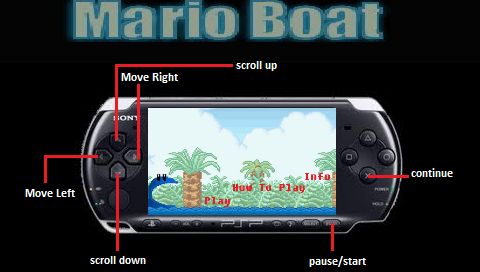 Mario Boat Homebrew - Screenshot 5