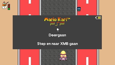 Mario Kart PSP screenshot (3)