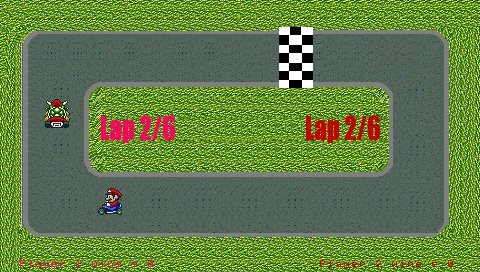 Mario Kart PSP screenshot (5)