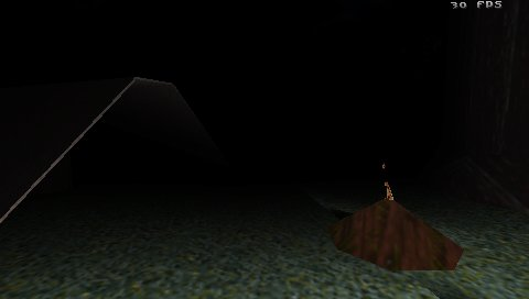 Slender PSP screenshot (1)